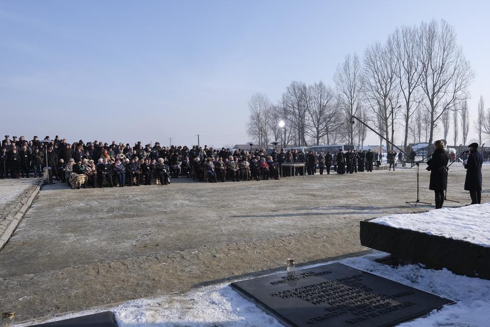 Główna ceremonia 72. rocznicy wyzwolenia Auschwitz