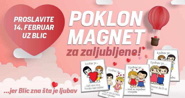 """Poklon za Dan zaljubljenih potražite u četvrtak u """"Blicu"""""""