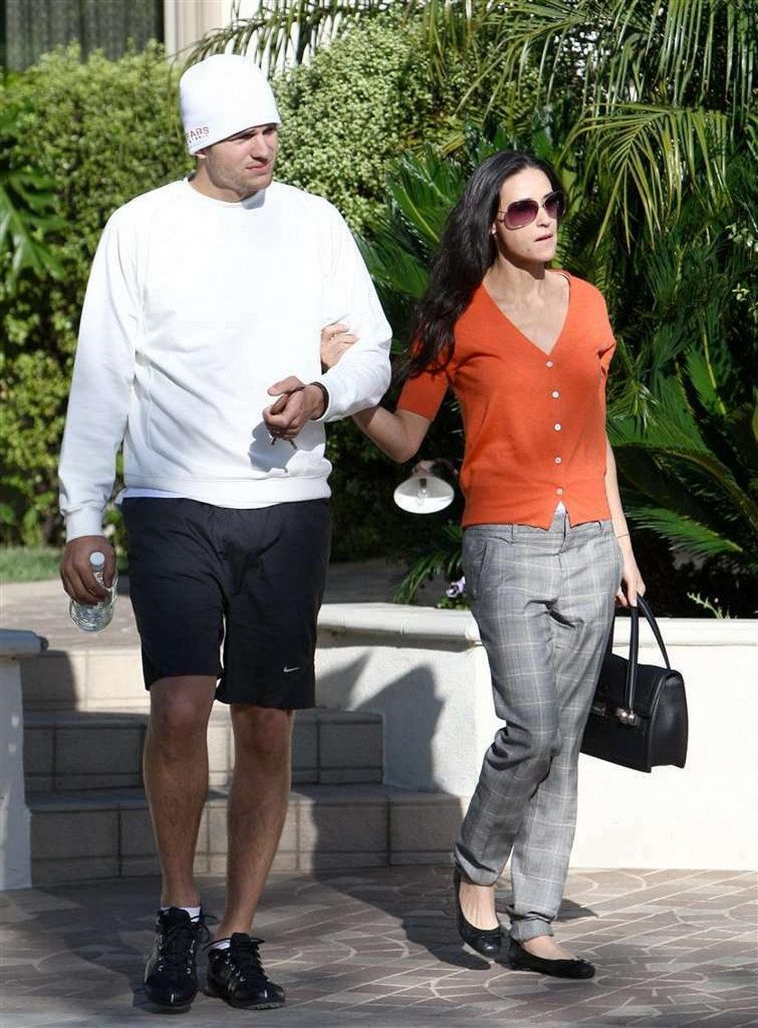 Kutcher i Moore na diecie