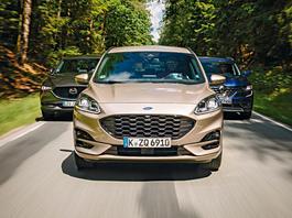 SUV-y z trzech stron Świata: Ford Kuga, Mazda CX-5 i Renault Koleos
