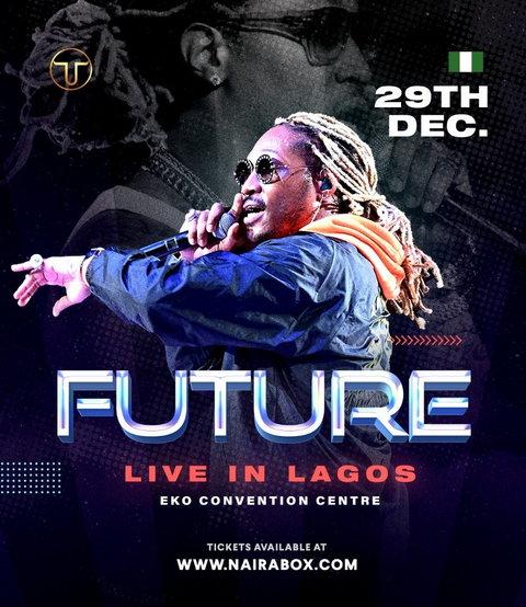 American Rapper, Future to Storm Lagos, Nigeria. (Toro Entertainment Company)