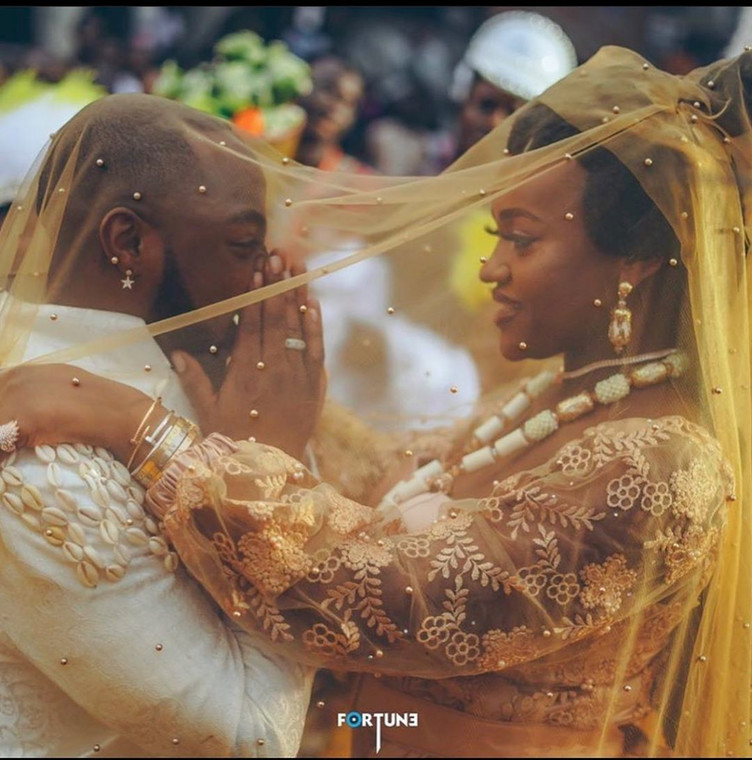 Davido and his fiancee, Chioma [Instagram/DavidoOfficial]
