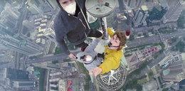 Wspięli się na 384 metrowy wieżowiec. Zdjęcia mrożą krew w żyłach