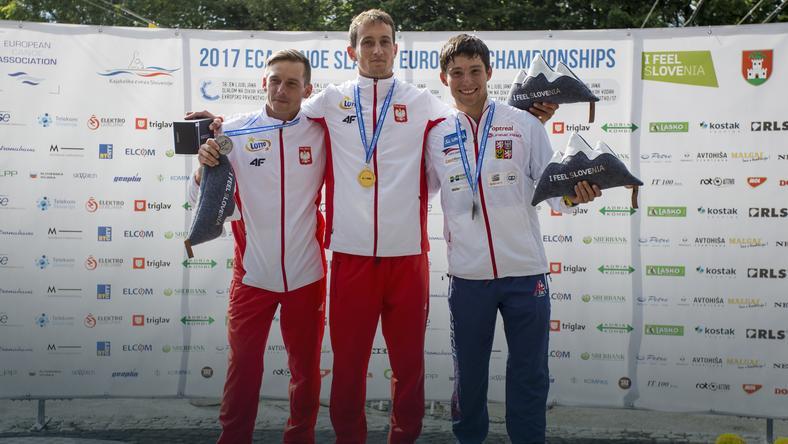 Od lewej: Dariusz Popiela, Mateusz Polaczyk i Jiri Prskavec