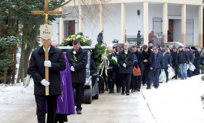 Pogrzeb Jana Pluty