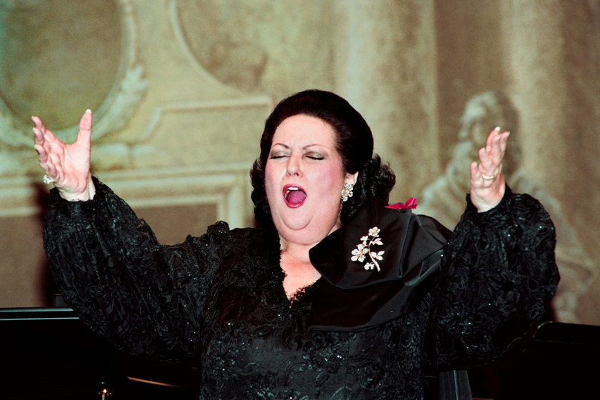 Nie żyje słynna diva operowa Montserrat Caballe