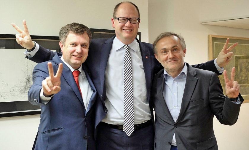 Jacek Karnowski, Paweł Adamowicz, Wojciech Szczurek