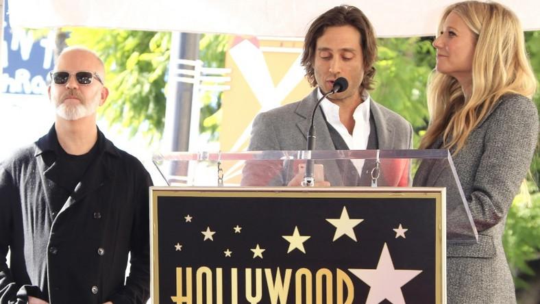 Aktorka pojawiła się dziś na ceremonii wręczenia scenarzyście i producentowi Ryanowi urphy'emu gwiazdy w Hollywood Walk of Fame...