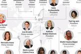 Žene, predsednik, premijer, grafika