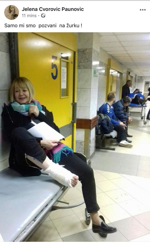 Jelena u Urgentnom centru