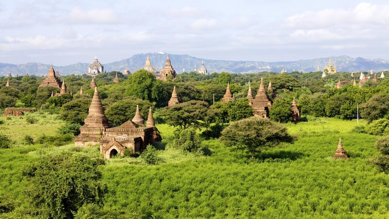 Największe atrakcje Birmy - Bagan