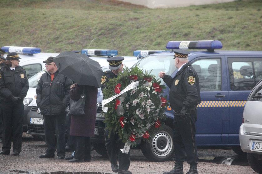 Pogrzeb gdańskiej strażniczki