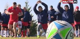 Fakt24 trenuje z reprezentacją Polski w rugby. Łatwo nie było...