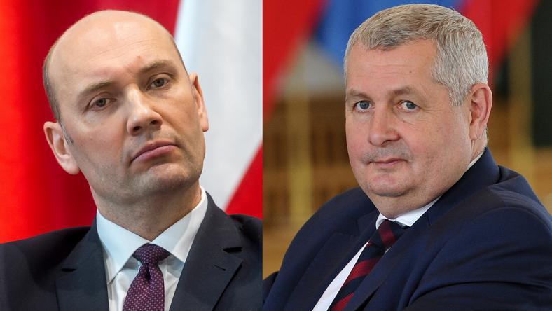 Sebastian Chwałek i Marek Łapiński - nowi wiceministrowie MON