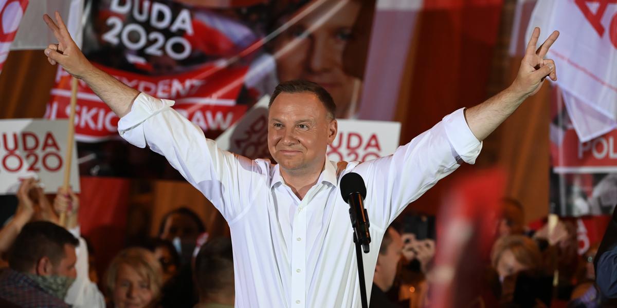 Wybory 2020: Andrzej Duda komentuje swój wynik. Wspaniała ...