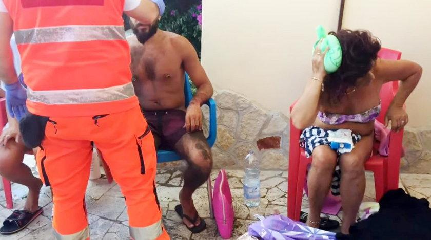 Groza na plaży w Rzymie! Przeszła trąba powietrzna, są ranni