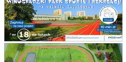 Park sportowy, winnice nad Wartą, ułatwienia dla niewidomych i akcja walki z czerniakiem. Oto małe projekty do PBO!