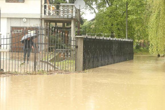 Banjaluka, naselje Lazarevo, reka Vrbas poplavila