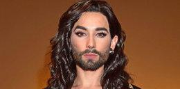 Conchita Wurst wygląda niezwykle męsko