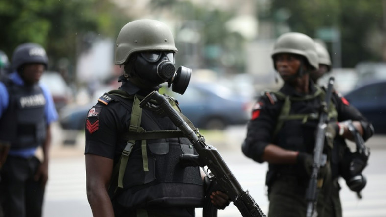 At least three IMN members were reportedly killed by officers while trying to disperse the religious group's procession in Kaduna on Tuesday, September 10, 2019 (image used for illustration) [AFP]