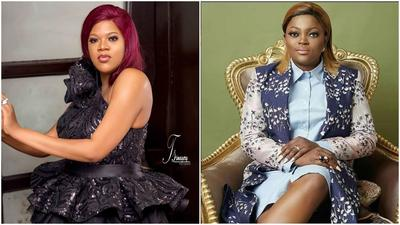 'We are colleagues not friends' - Toyin Abraham clears air on frosty relationship with Funke Akindele-Bello