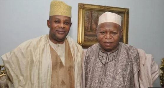 James Faleke (Left) and late Prince Abubakar Audu (Right) were on the same governorship ticket in 2015 (The Nation)