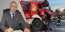 Wójt rozbił wóz strażacki, a za naprawę zapłacili mieszkańcy