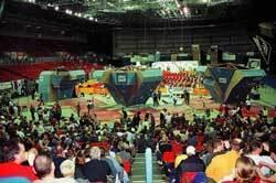 Arena zawodów w Birmingham (fot. Tomasz Oleksy)