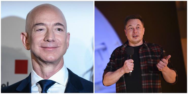 Bezos i Mask