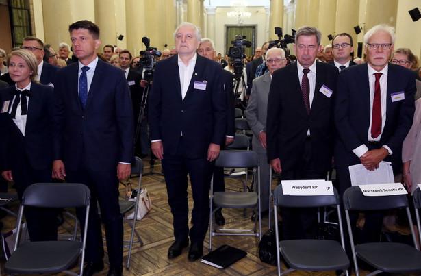 Nadzwyczajny Kongres Sędziów Polskich nt. sytuacji sądownictwa w Polsce.