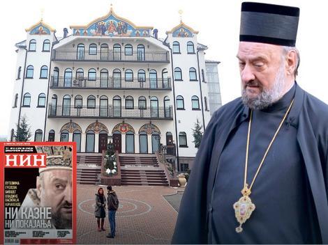 Velelepna vila na pet spratova u koju se sklonio penzionisani vladika Vasilije Kačavenda