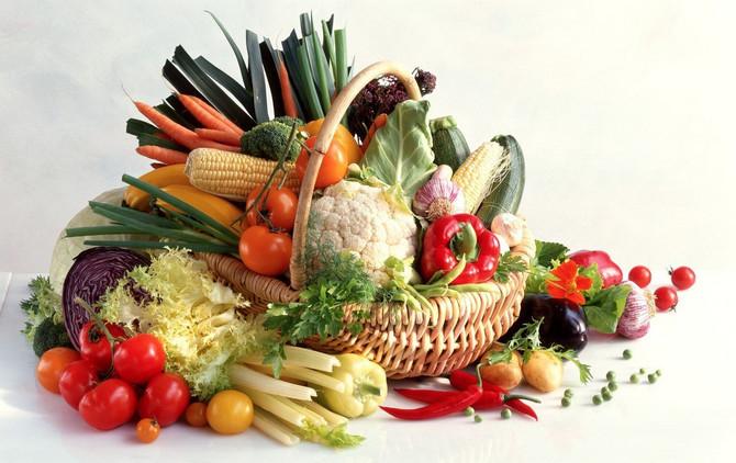 Prema tradicionalnoj kineskoj medicini, hrana utiče na pojedine organe, pa se i namirnice dele prema svojstvima elementa koji sadrže