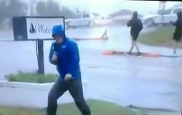Novinar uragan gaf prtscn
