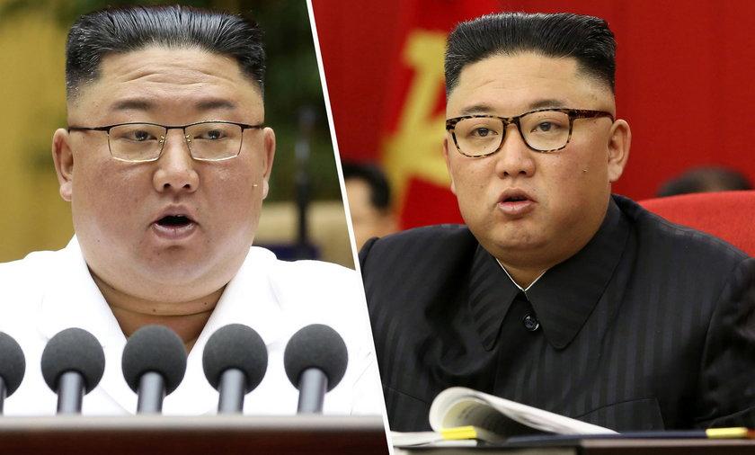 Kim Dzong Un w ostatnim czasie mocno schudł.