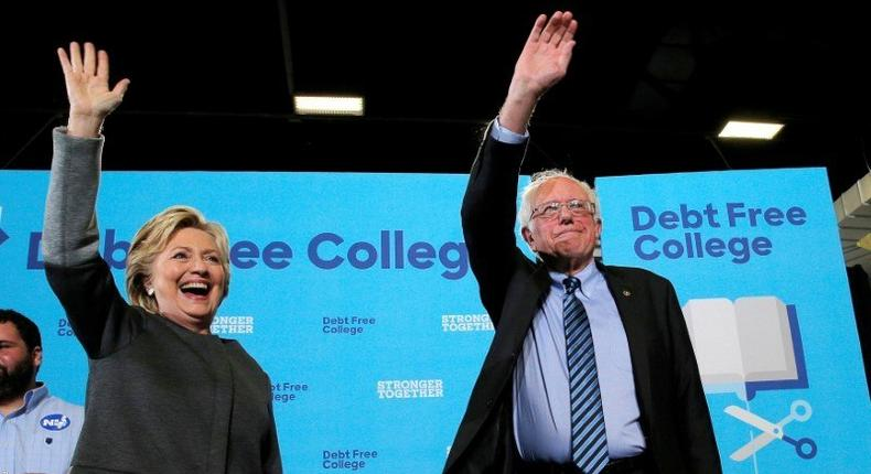 Clinton enlists former foe Sanders in appeal for youth votes in U.S. presidential race
