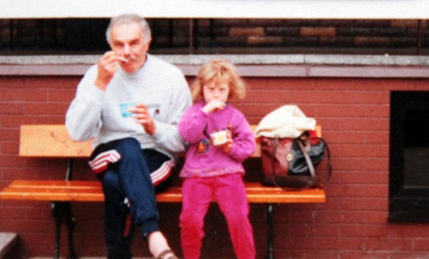 Jacek Bryszewski z córką Olą Bryszewską