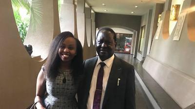 Jubilee blogger Pauline Njoroge speaks on getting hired by Raila Odinga