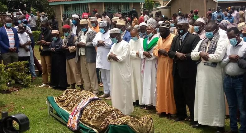 Mama Sarah Obama laid to rest in her Kogelo Home