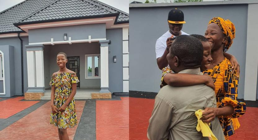 Photos: Kid comedian Emmanuella builds plush house for her mother