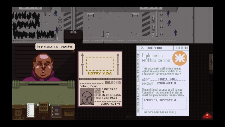 Galeria Papers, Please