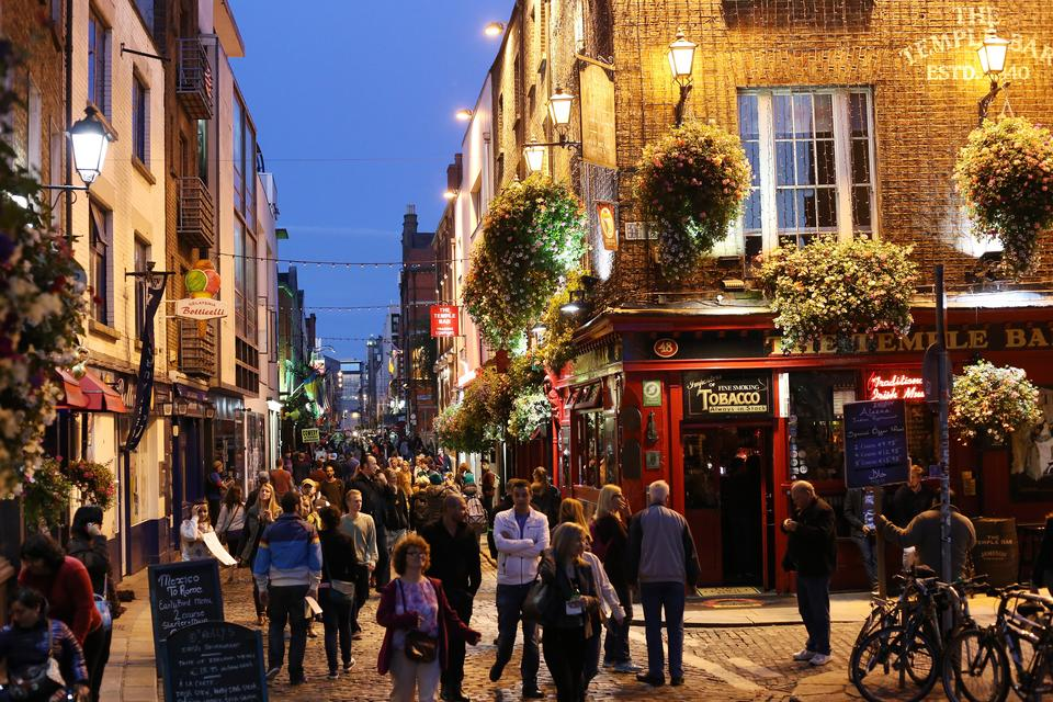 10. Dublin, Irlandia