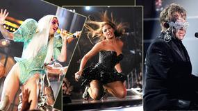 Kreacje gwiazd na scenie - Grammy 2010
