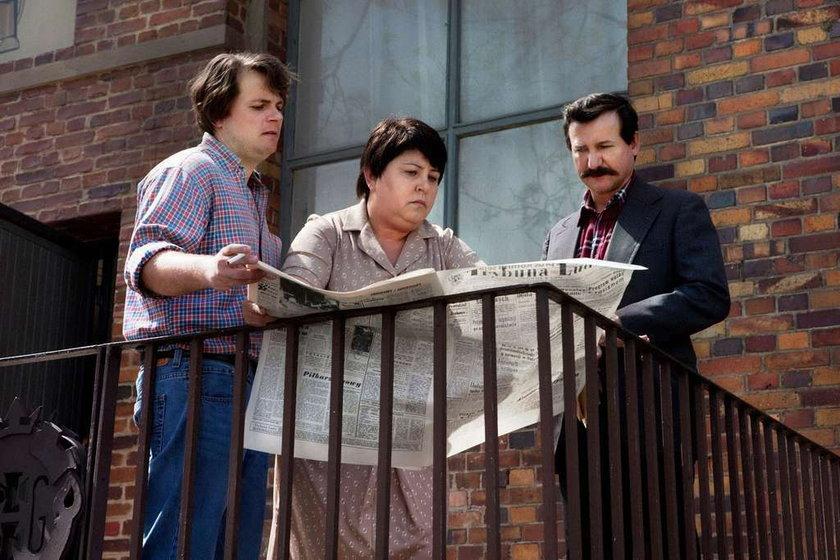 Dorota Wellman w filmie Wałęsa