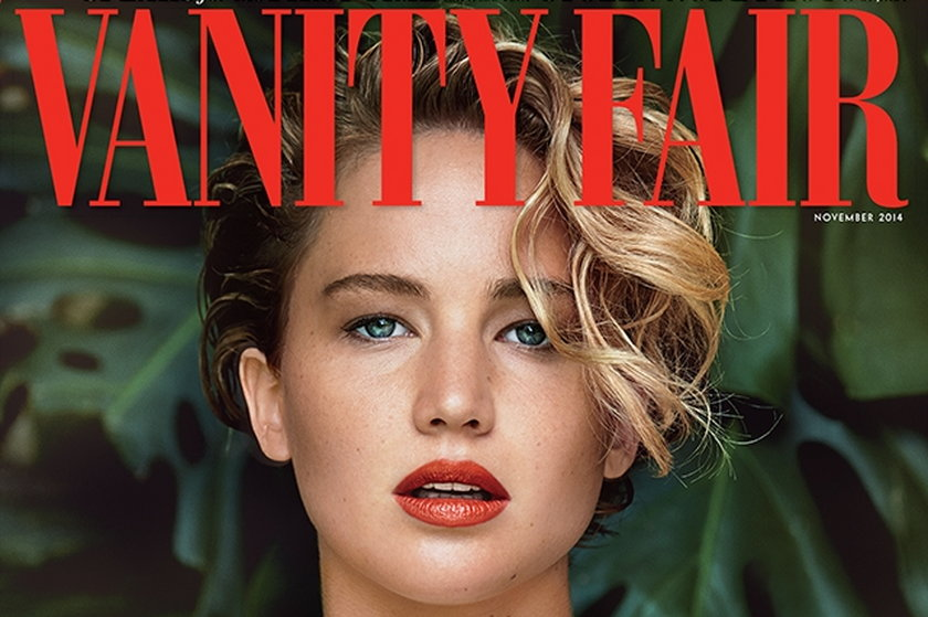 "Jennifer Lawrence w ""Vanity Fair"""