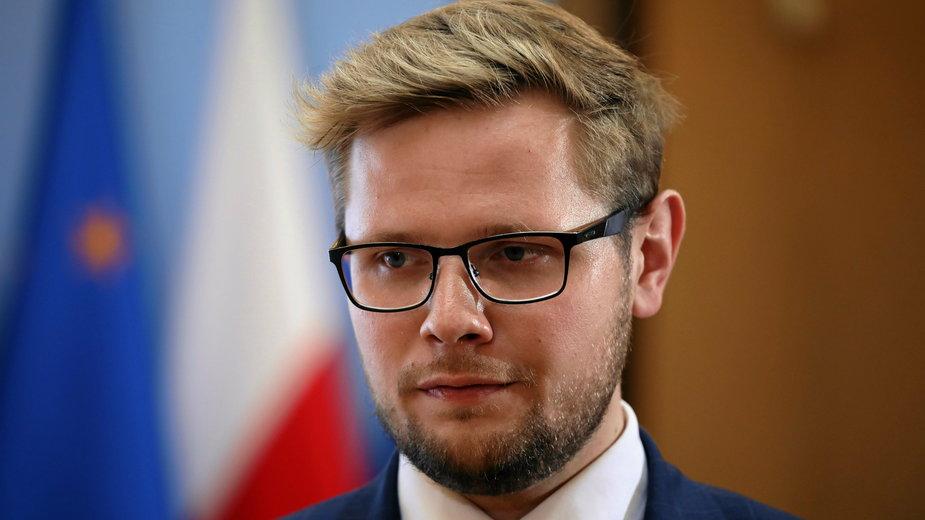 Wiceminister sprawiedliwości Michał Woś
