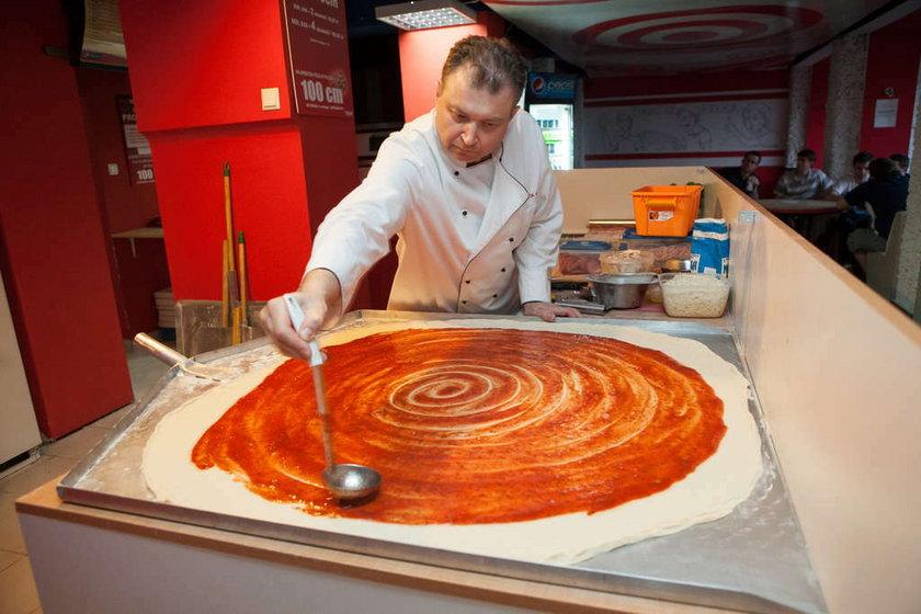 Największa pizza w Polsce