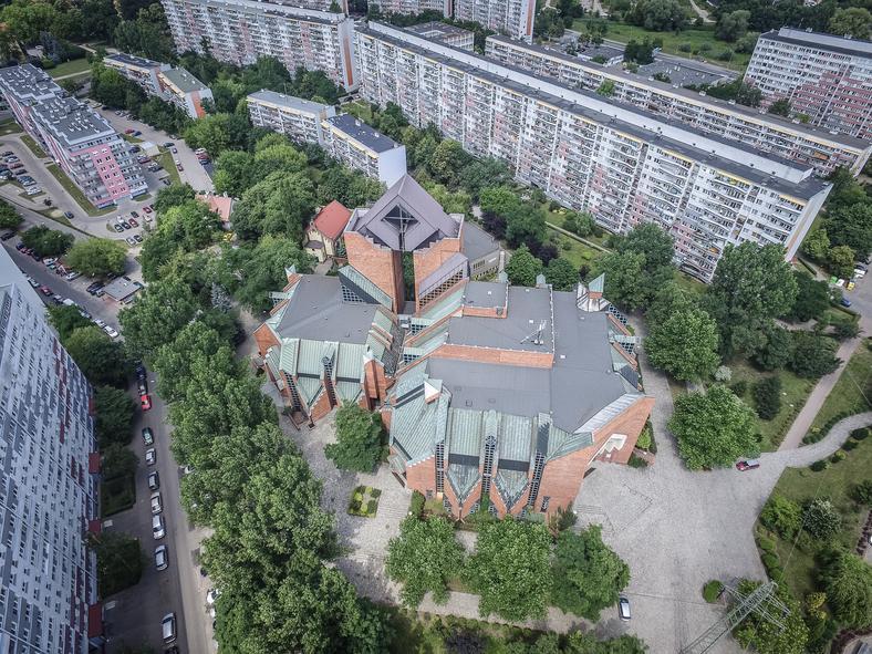 Kościół Matki Bożej Królowej Pokoju we Wrocławiu, fot.: Igor Snopek