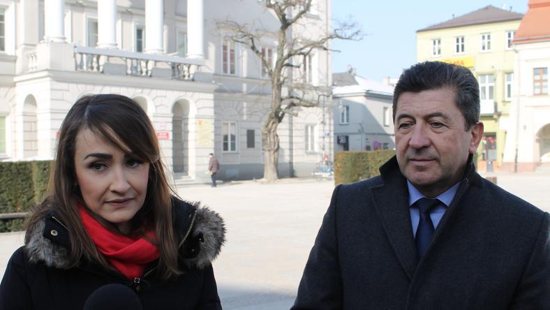 Katarzyna Szafrańska i Jan Cedzyński