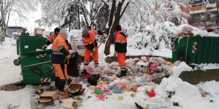radnici čistoća