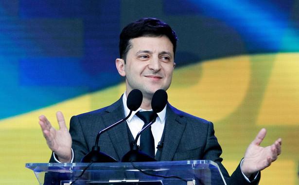 Wolodymyr Zełeński do tej pory unikał skandali w polityce wewnętrznej
